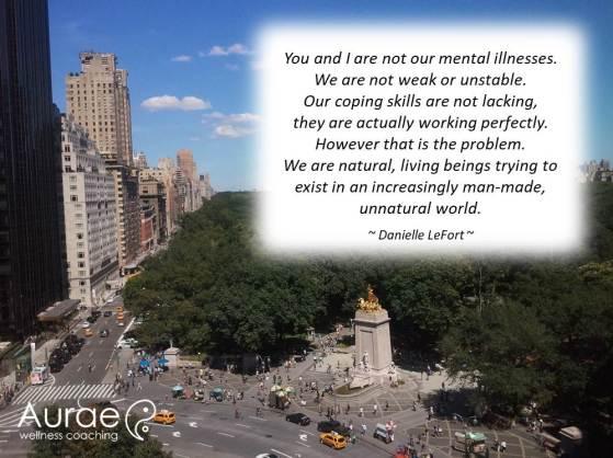Mental Illness is not Abnormal